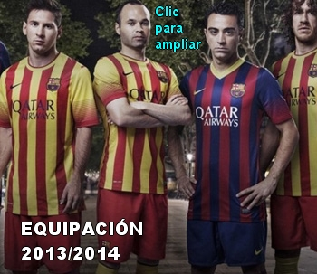 Equipacion 2013-14