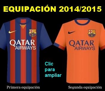 Equipacion 2014-15