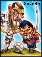 Caricatura De Los Jugadores Del Real Madrid Y Algo Mas